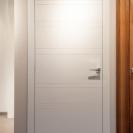 Porta legno rosso bianco marrone