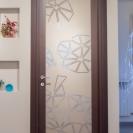 porta vetro temperato disegnato artigianato