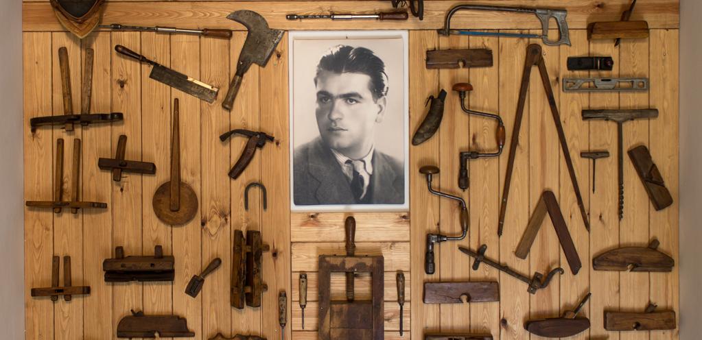 Ermelio Calastrucci strumenti originali antichi