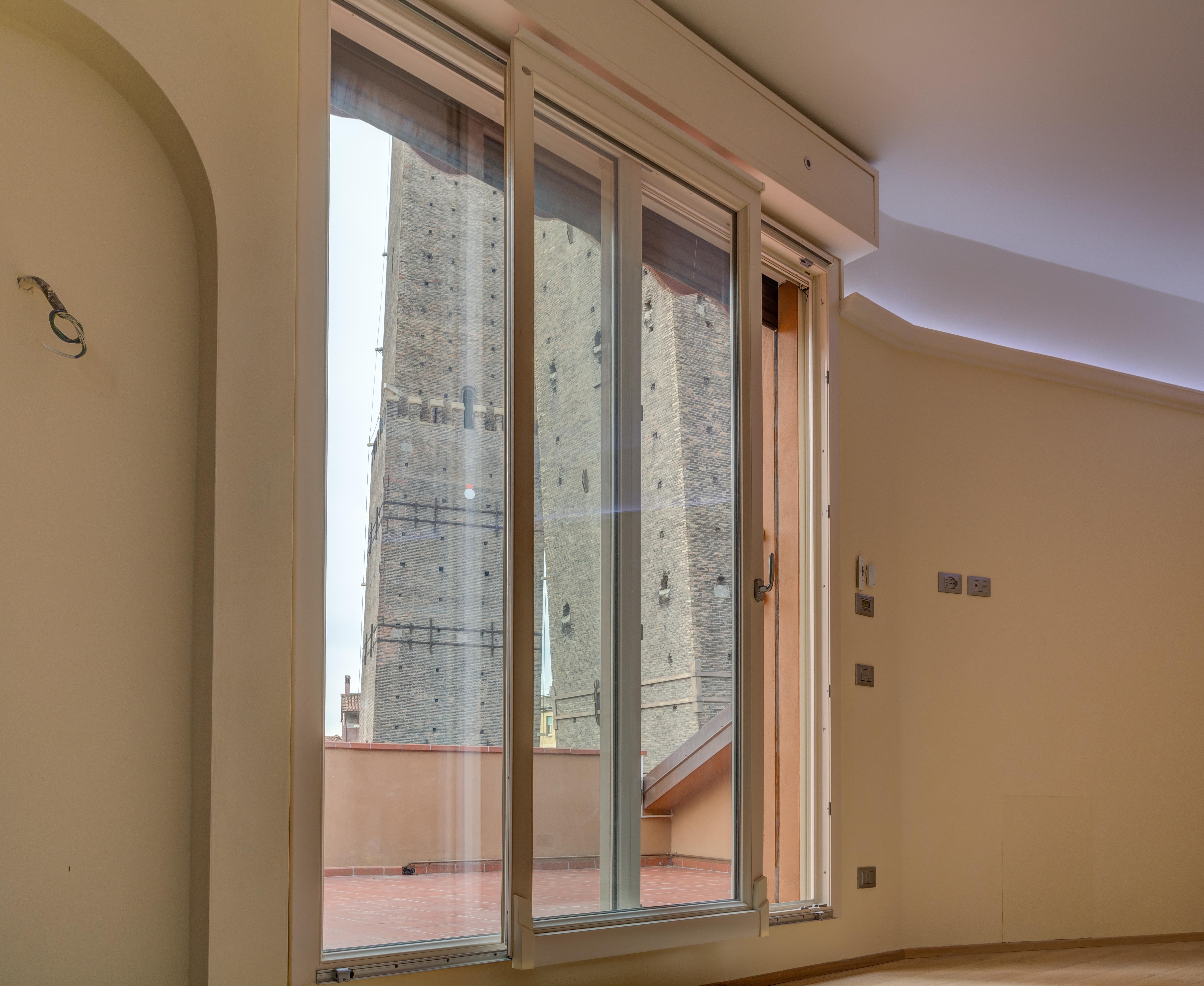 Porta finestra scorrevole rientrante calastrucci - Porta finestra scorrevole ...